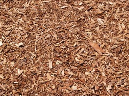 Brown Cedar Mulch = $60 per yard