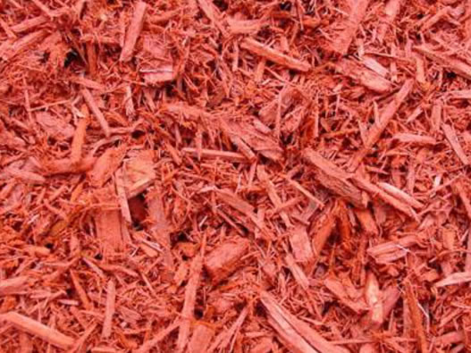 Red Mulch = $62 per yard